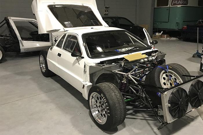 Bonetto restauri - Lancia 037